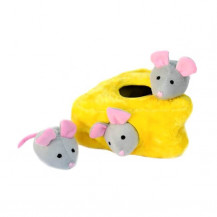 Zippy Paws Interactive Burrow - Mice 'n Cheese