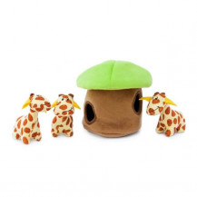 Zippy Paws Interactive Burrow - Giraffe Lodge