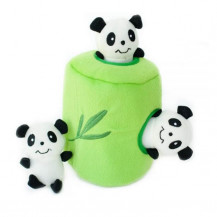 Zippy Paws Interactive Burrow - Panda 'n Bamboo