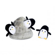 Zippy Paws Interactive Burrow - Penguin Cave