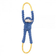 Zippy Paws Monkey Rope Tugz - Blue
