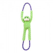 Zippy Paws Monkey Rope Tugz - Green
