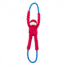Zippy Paws Monkey Rope Tugz - Red