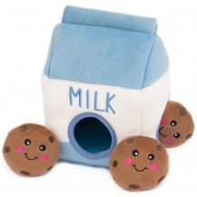 Zippy Paws Burrows - Milk And Cookies