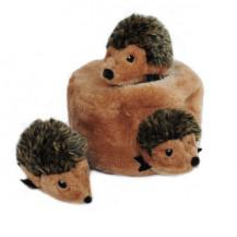 Zippy Paws Interactive Burrow Hedgehog Den Dog Toy