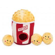Zippy Paws Burrow Popcorn Bucket Interactive Dog Toy - product