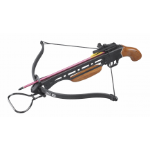 Man Kung 150LBS Crossbow with Wooden Handle