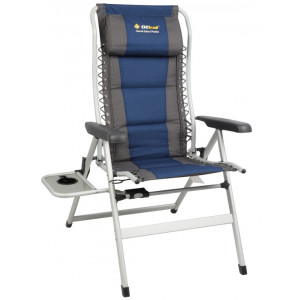 super popular e5153 4c0bc Oztrail Cascade 8 Position Armchair + Side Table - 160kg