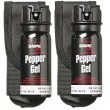 Sabre Flip-Top 53.2mL Pepper spray GEL with holster (2 x Pack)