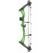 Man Kung 55LBS Compound Bow - Green - Sight NOT Included