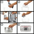 Barocook 500ml Round Cooking System Instructions