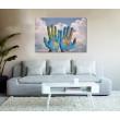 Canvas Prints Abstract Art - A1, ABA110