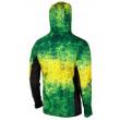 Pelagic Exo-Tech Hooded Fishing Shirt - Green