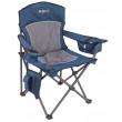 Oztrail Regal Armchair - Blue, 200kg