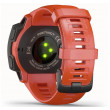 Garmin Instinct GPS Watch - Flame Red - Back View