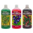 General Hydroponics Flora Series Nutrient Kit (3x 500ml) - Soft Water