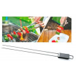 Kitchen Dao Stainless Steel Slider BBQ Skewer