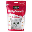 Kit Cat Kitty Crunch Beef Flavoured Cat Treats - 60g, 12 Pack/Display Box