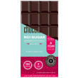 MojoMe Low-Carb Dark Plain Chocolate - 80g, 6 Pack