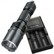 Nitecore TM03 Flashlight + D2 Battery Charger