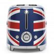 Smeg TSF01UJEU 50's Style Retro Toaster - 2 Slices, Union Jack