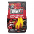 Weber Original Kettle Premium Charcoal Grill - 57cm, Copper + FREE Briquettes and Charcoal Braai Vinyl Cover2