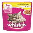 Whiskas Cat Food in Jelly Pouches - Chicken, 85g x 48
