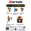 Zartek LED 10W Worklight 800Lm features