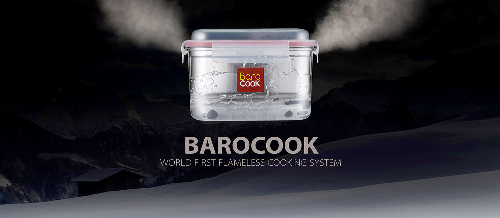 Barocook World's First Flameless Cooking System