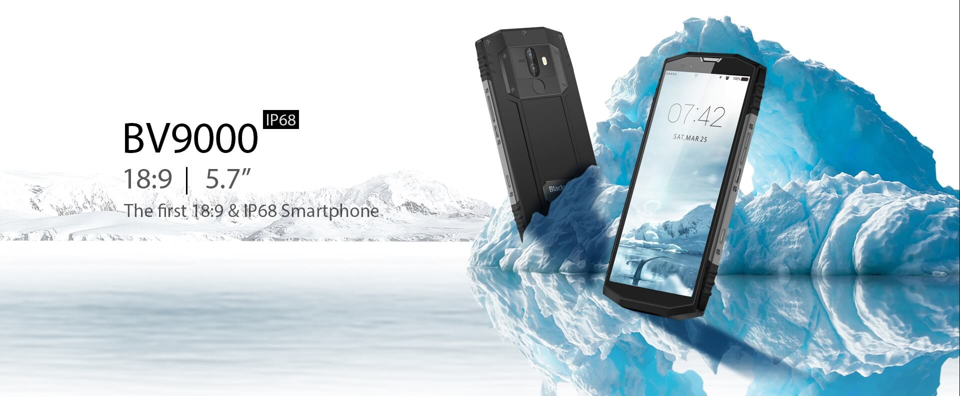 Blackview BV9000 Rugged Smartphone - Stone Grey