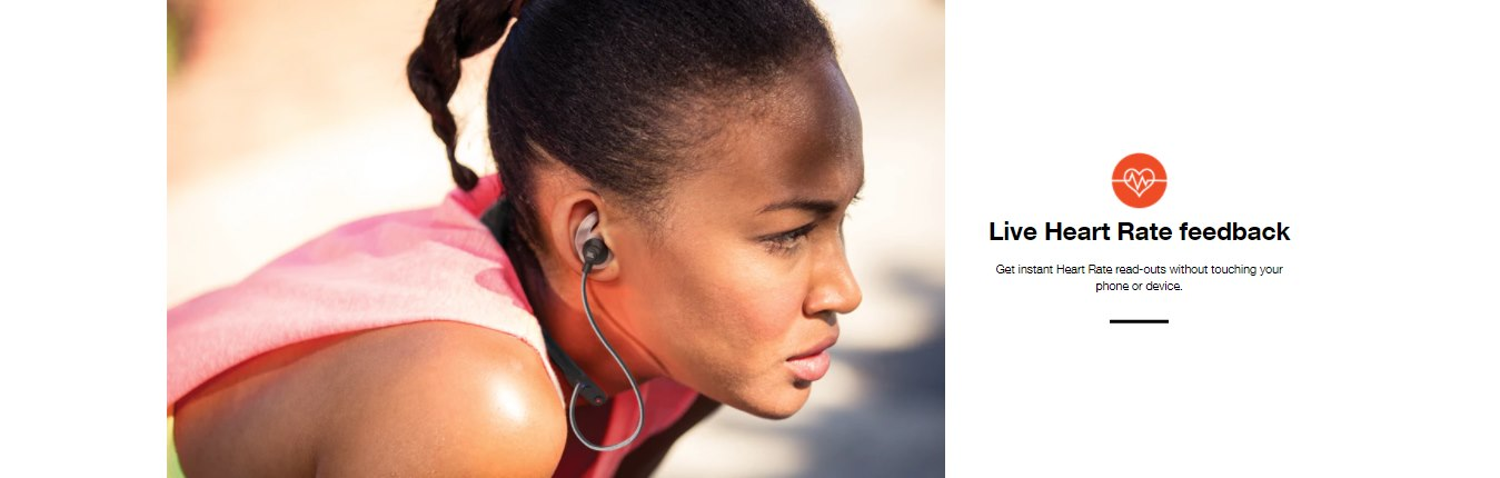 JBL Reflect Fit Heart Rate Wireless Sports Headphones Features