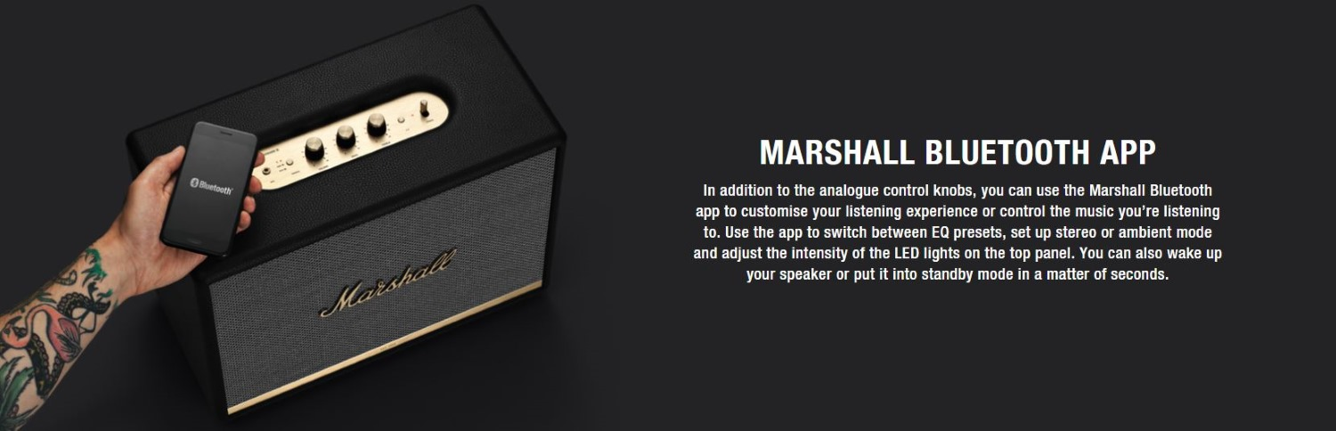 Marshall Woburn II Active Stereo Features