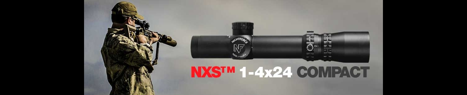 NXS Riflescope 1-4x24mm