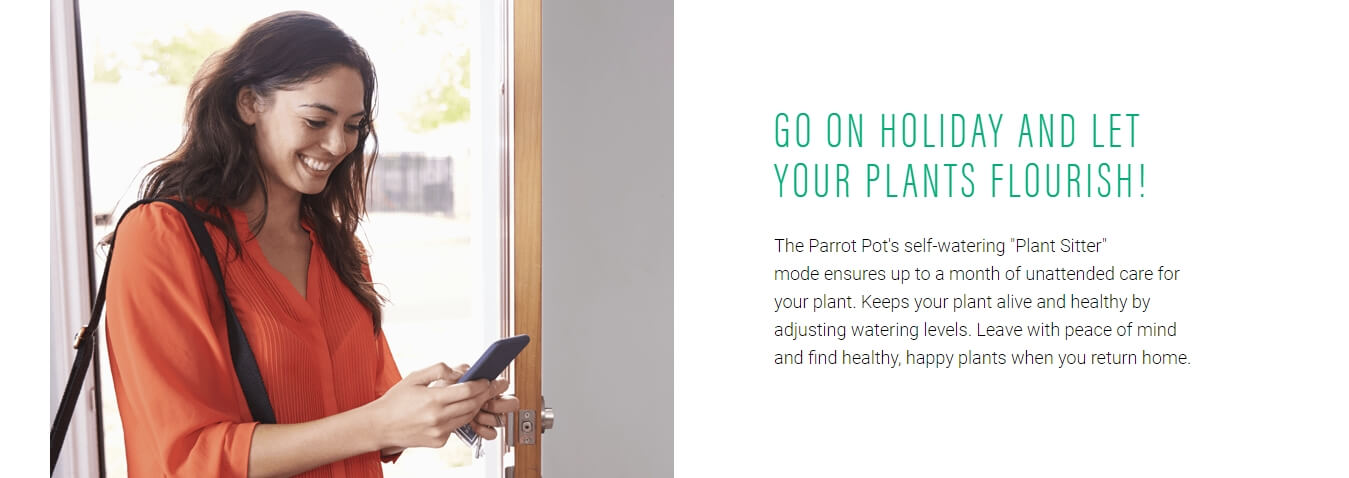 Parrot Pot Automated Watering